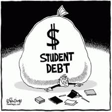 student debt bankruptcy crushing down